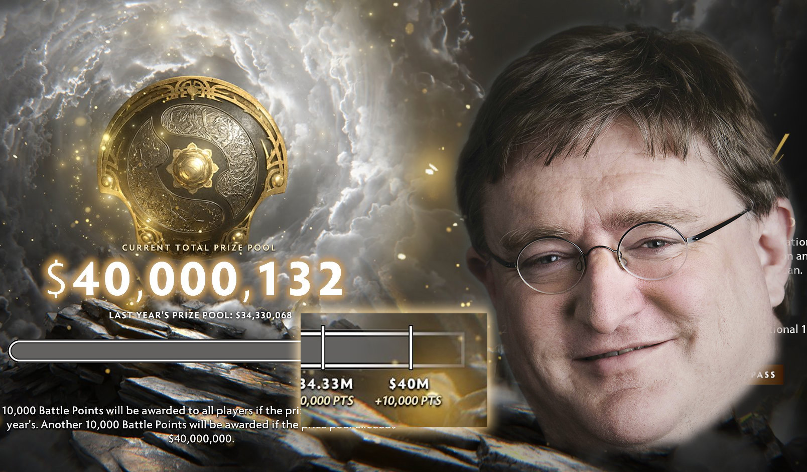 Gabe Battle Pass Dota